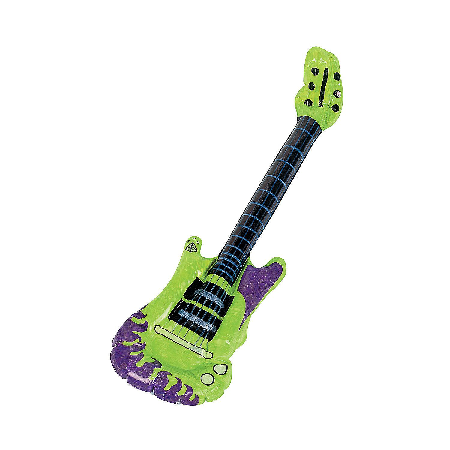 Inflatable Toy Guitar